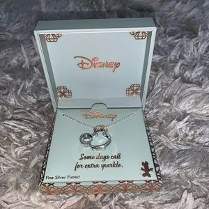 Silver Plated Minnie Necklace